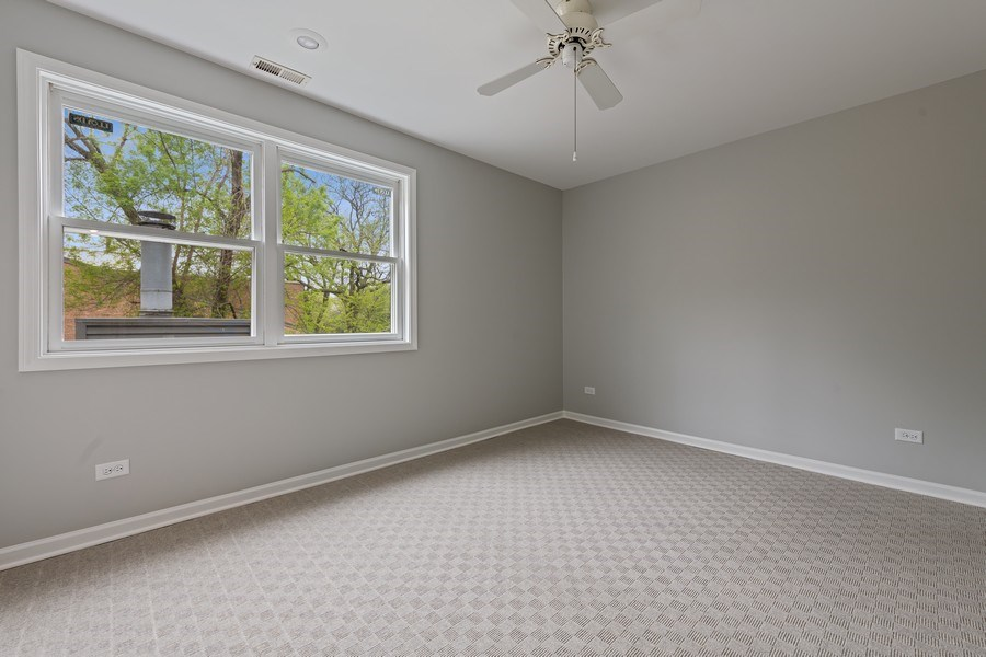 Real Estate Photography - 1652 N. Cleveland Ave., Chicago, IL, 60614 - 2nd Bedroom