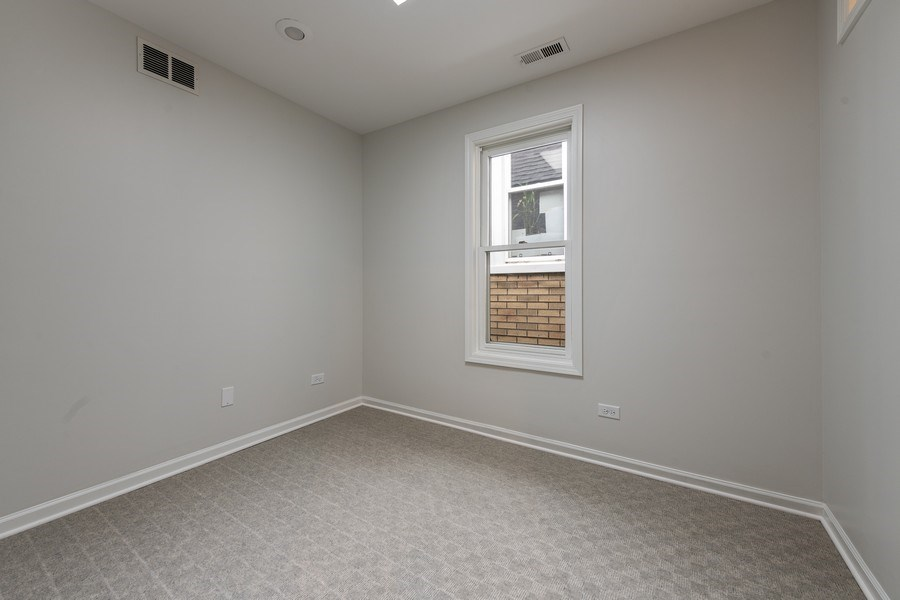Real Estate Photography - 1652 N. Cleveland Ave., Chicago, IL, 60614 - 3rd Bedroom