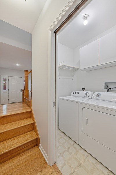 Real Estate Photography - 1652 N. Cleveland Ave., Chicago, IL, 60614 - Laundry Room
