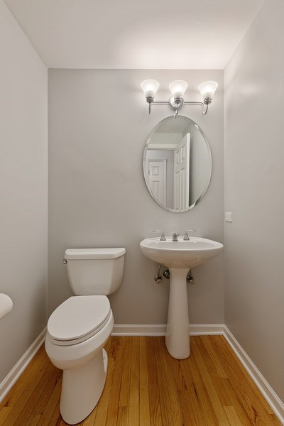 Real Estate Photography - 1652 N. Cleveland Ave., Chicago, IL, 60614 - Half Bath
