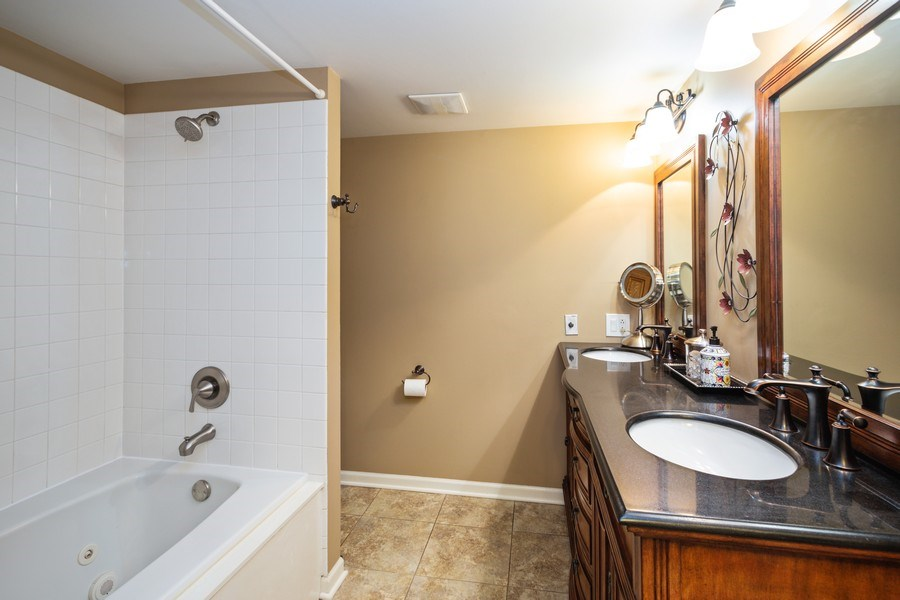 Real Estate Photography - 235 Lorraine Circle, Bloomingdale, IL, 60108 - Master Bathroom
