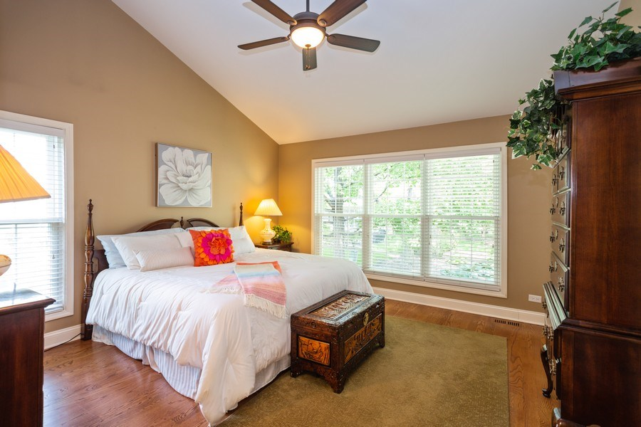 Real Estate Photography - 235 Lorraine Circle, Bloomingdale, IL, 60108 - Master Bedroom