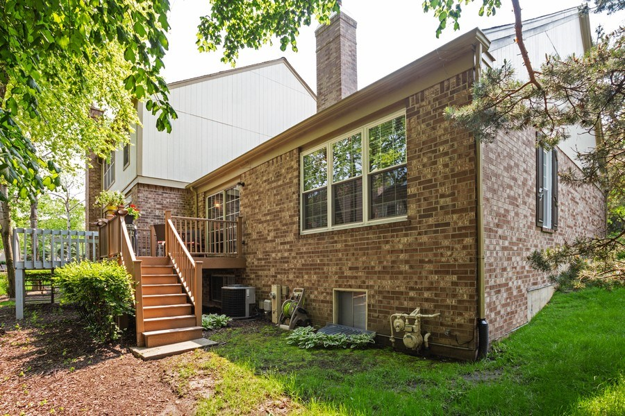 Real Estate Photography - 235 Lorraine Circle, Bloomingdale, IL, 60108 - Rear View