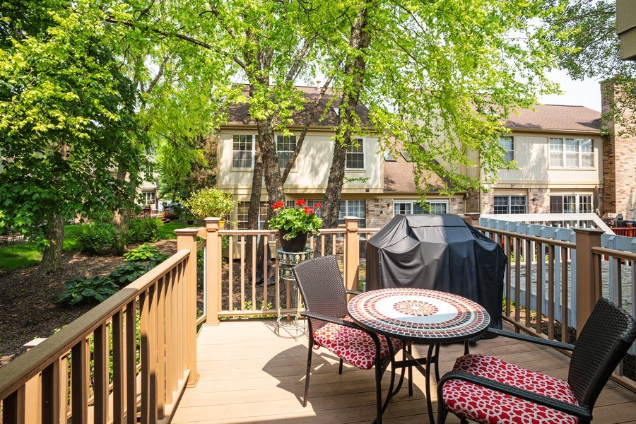 Real Estate Photography - 235 Lorraine Circle, Bloomingdale, IL, 60108 - Balcony