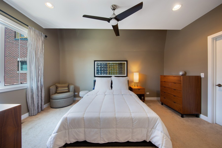 Real Estate Photography - 318 Pennsylvania Way, Oak Park, IL, 60302 - Master Bedroom