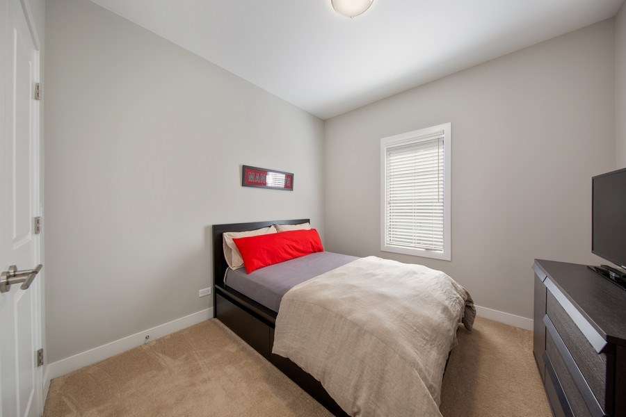 Real Estate Photography - 318 Pennsylvania Way, Oak Park, IL, 60302 - 3rd Bedroom