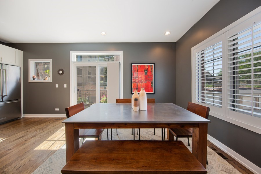 Real Estate Photography - 318 Pennsylvania Way, Oak Park, IL, 60302 - Dining Room
