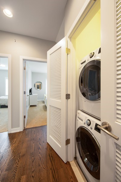 Real Estate Photography - 318 Pennsylvania Way, Oak Park, IL, 60302 - Laundry Room