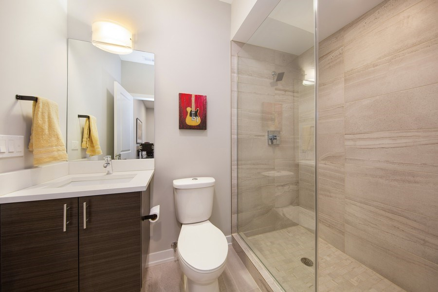 Real Estate Photography - 318 Pennsylvania Way, Oak Park, IL, 60302 - Bathroom