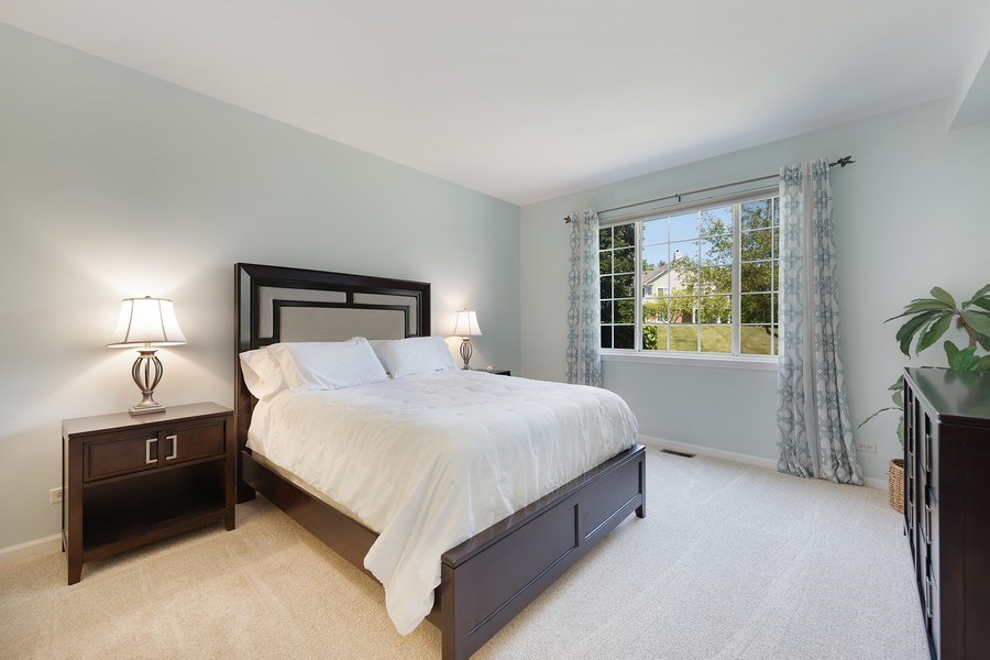 Real Estate Photography - 2588 Camberley Cir, Westchester, IL, 60154 - Master Bedroom