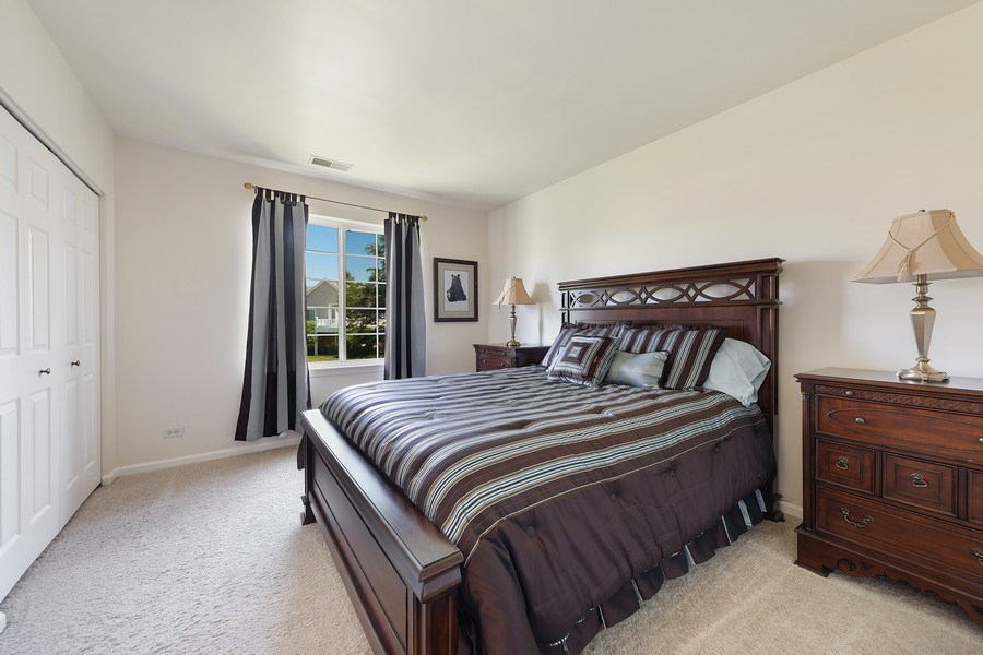 Real Estate Photography - 2588 Camberley Cir, Westchester, IL, 60154 - 2nd Bedroom