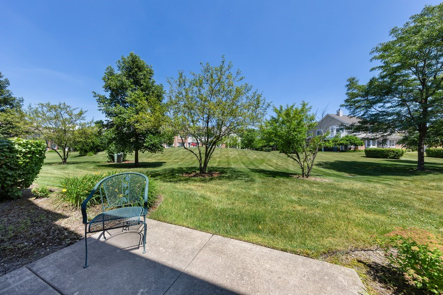 Real Estate Photography - 2588 Camberley Cir, Westchester, IL, 60154 - Back Yard