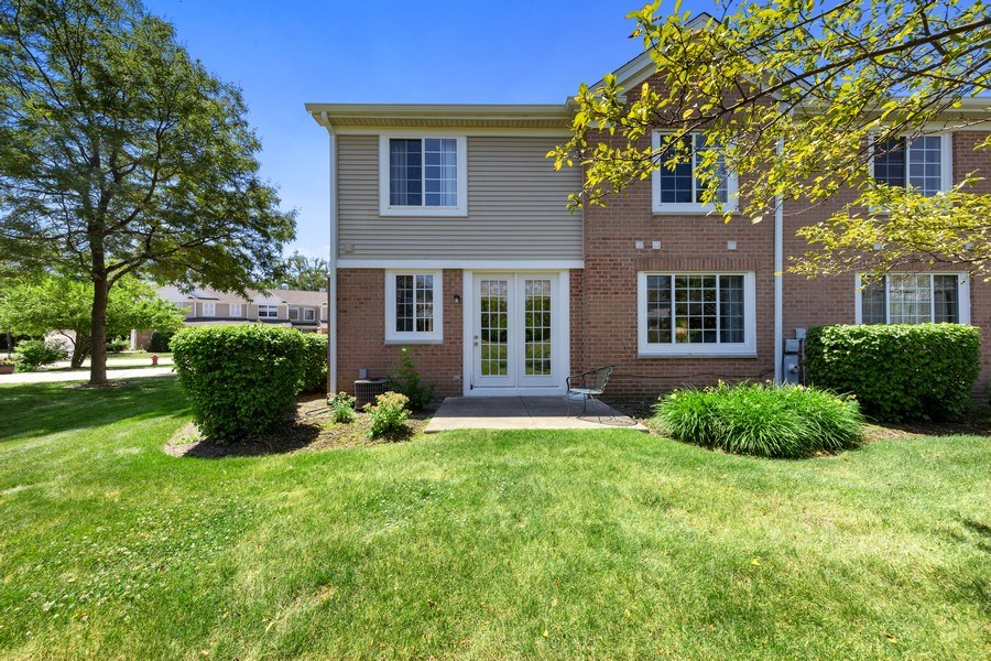 Real Estate Photography - 2588 Camberley Cir, Westchester, IL, 60154 - Rear View