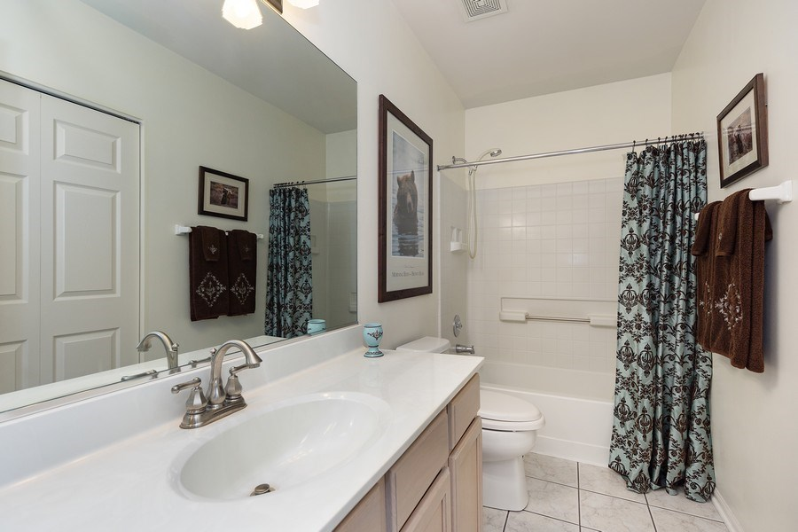 Real Estate Photography - 2588 Camberley Cir, Westchester, IL, 60154 - Bathroom