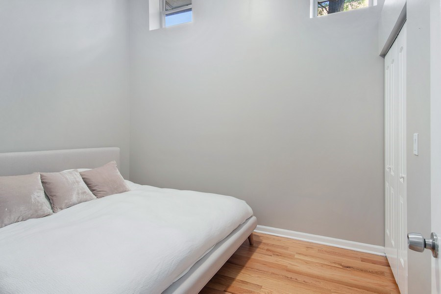 Real Estate Photography - 1257 N Maplewood, Unit 1W, Chicago, IL, 60622 - Master Bedroom