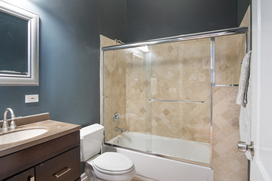 Real Estate Photography - 1257 N Maplewood, Unit 1W, Chicago, IL, 60622 - Bathroom