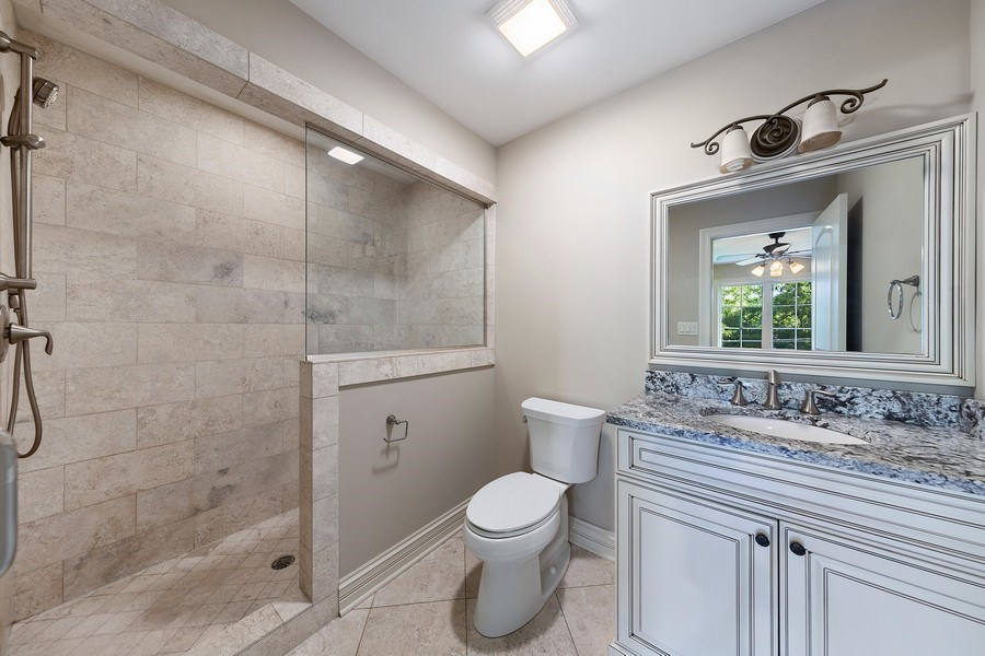 Real Estate Photography - 440 N Quincy St., Hinsdale, IL, 60521 - 3rd Bathroom