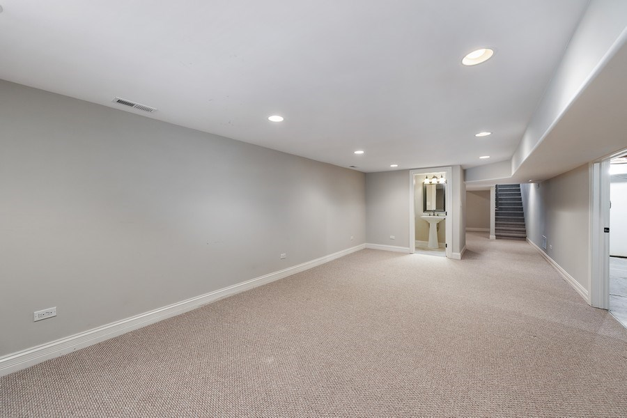 Real Estate Photography - 440 N Quincy St., Hinsdale, IL, 60521 - Lower Level