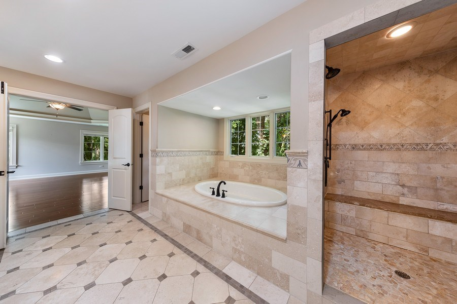 Real Estate Photography - 440 N Quincy St., Hinsdale, IL, 60521 - Master Bathroom