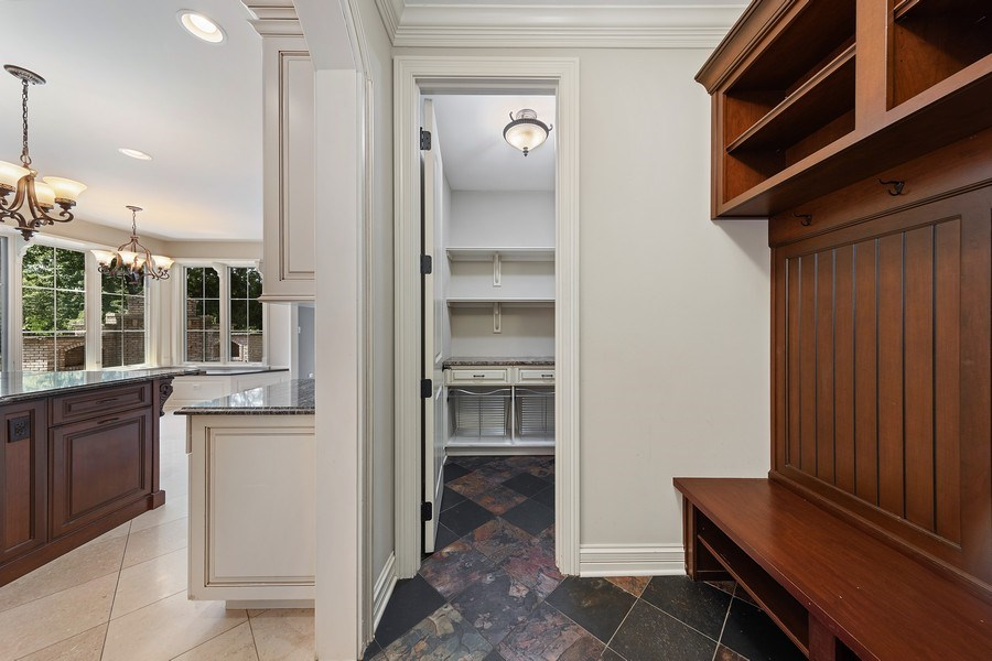 Real Estate Photography - 440 N Quincy St., Hinsdale, IL, 60521 - Mudroom