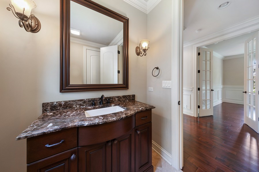 Real Estate Photography - 440 N Quincy St., Hinsdale, IL, 60521 - Powder Room