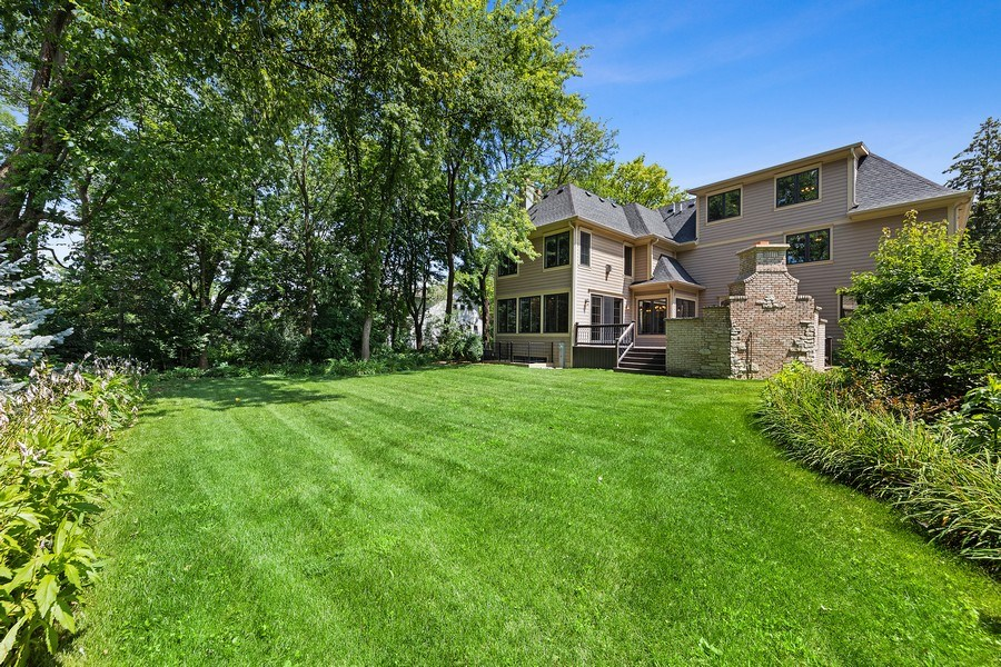 Real Estate Photography - 440 N Quincy St., Hinsdale, IL, 60521 - Back Yard