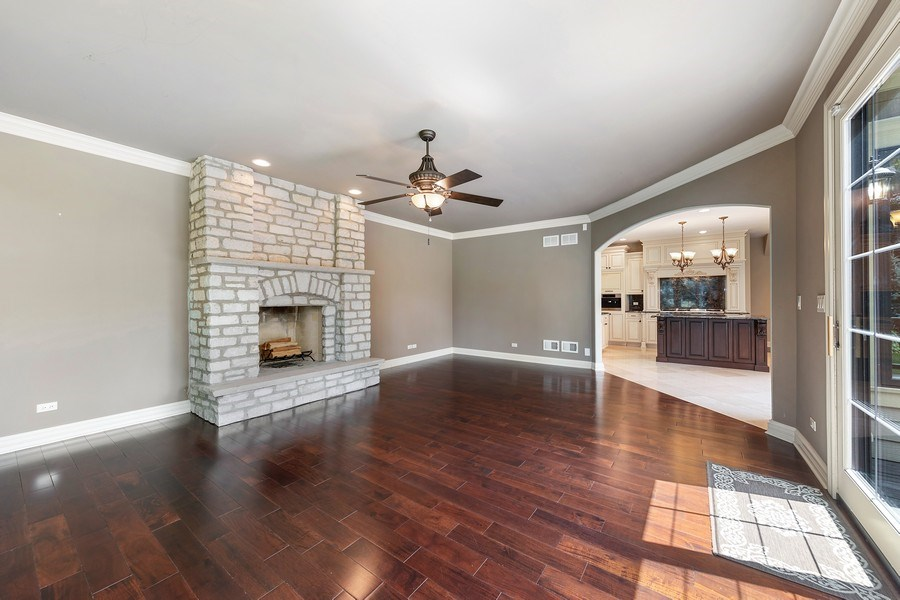 Real Estate Photography - 440 N Quincy St., Hinsdale, IL, 60521 - Family Room