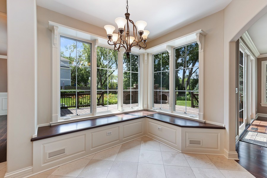 Real Estate Photography - 440 N Quincy St., Hinsdale, IL, 60521 - Breakfast Area
