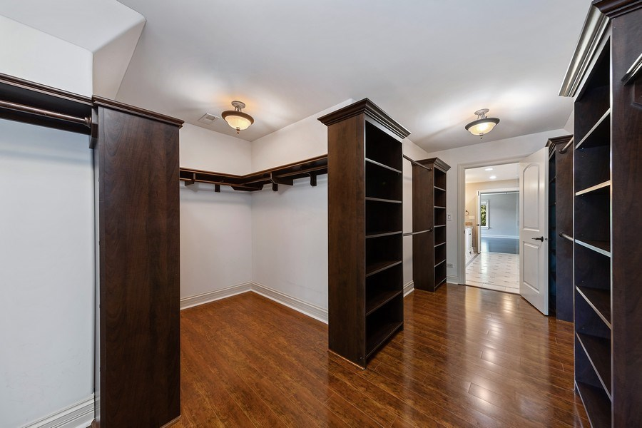 Real Estate Photography - 440 N Quincy St., Hinsdale, IL, 60521 - Master Bedroom Closet