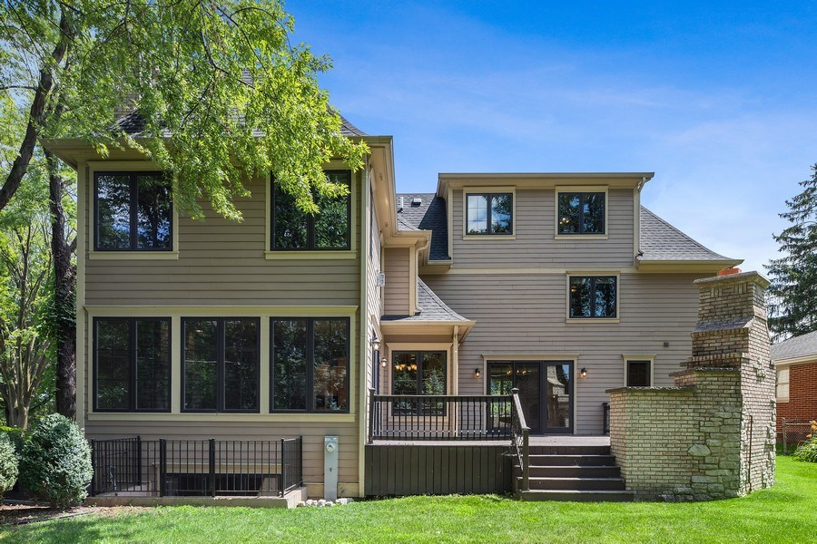 Real Estate Photography - 440 N Quincy St., Hinsdale, IL, 60521 - Rear View