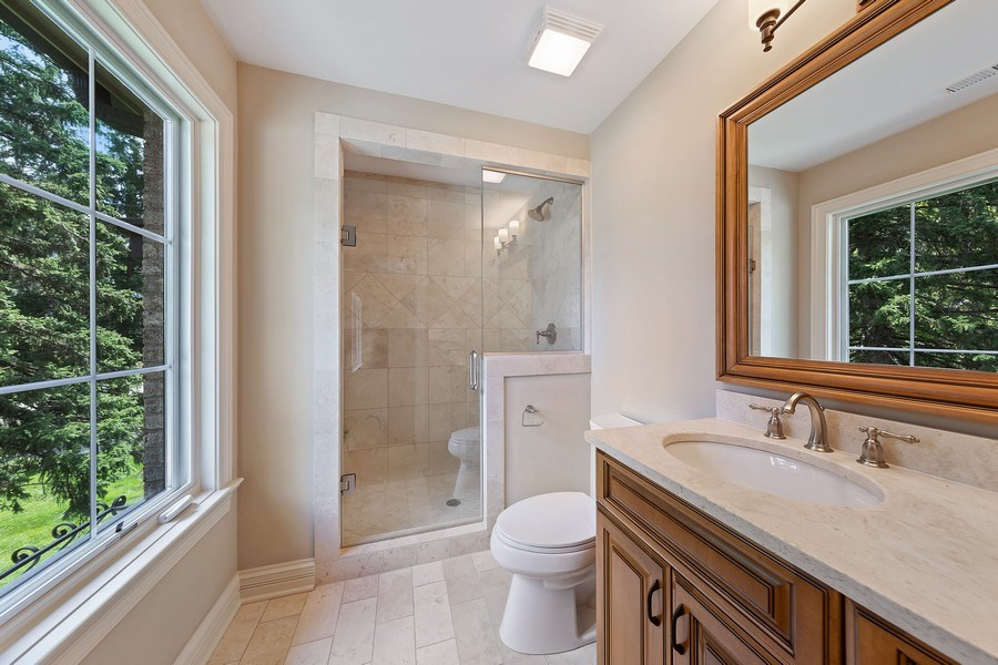 Real Estate Photography - 440 N Quincy St., Hinsdale, IL, 60521 - Bathroom