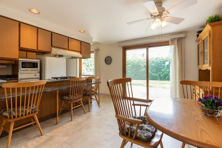 Real Estate Photography - 2505 Melrose Ave, Waukegan, IL, 60085 - Kitchen / Breakfast Room