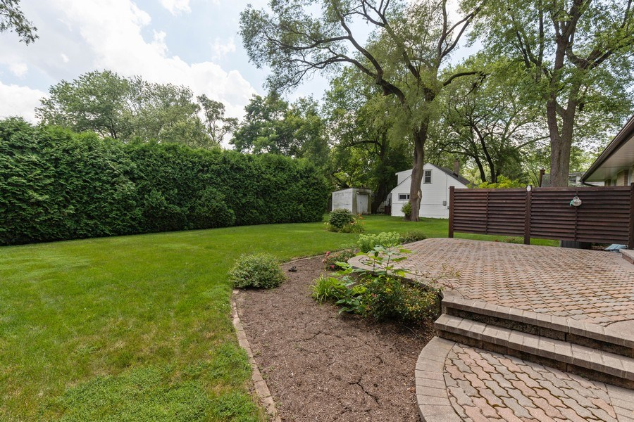 Real Estate Photography - 2505 Melrose Ave, Waukegan, IL, 60085 - Back Yard