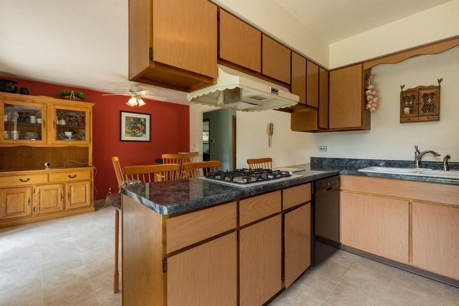 Real Estate Photography - 2505 Melrose Ave, Waukegan, IL, 60085 - Kitchen