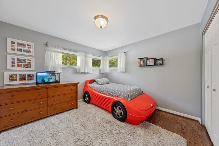 Real Estate Photography - 5124 Ellington, Western Springs, IL, 60558 - 2nd Bedroom