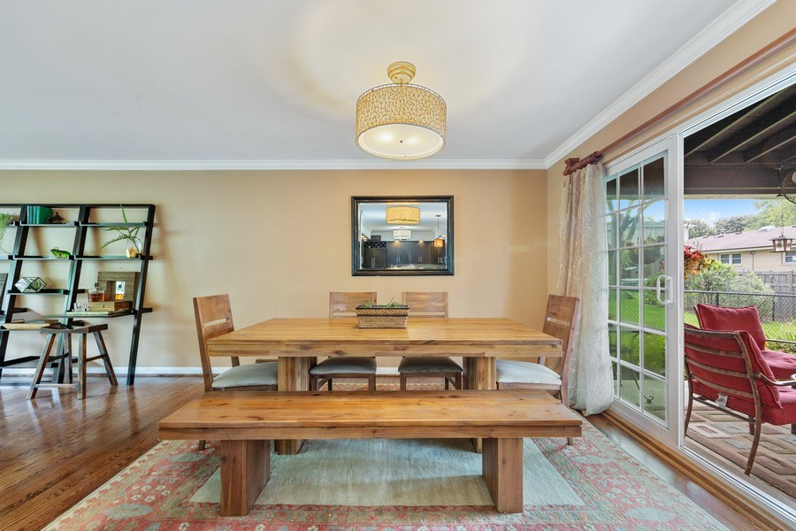 Real Estate Photography - 5124 Ellington, Western Springs, IL, 60558 - Dining Room