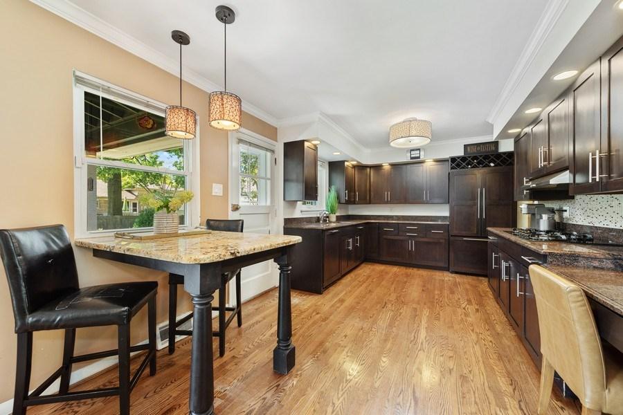 Real Estate Photography - 5124 Ellington, Western Springs, IL, 60558 - Kitchen