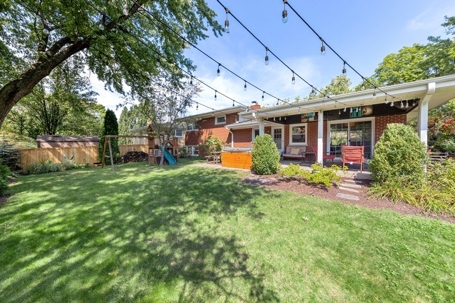 Real Estate Photography - 5124 Ellington, Western Springs, IL, 60558 - Rear View