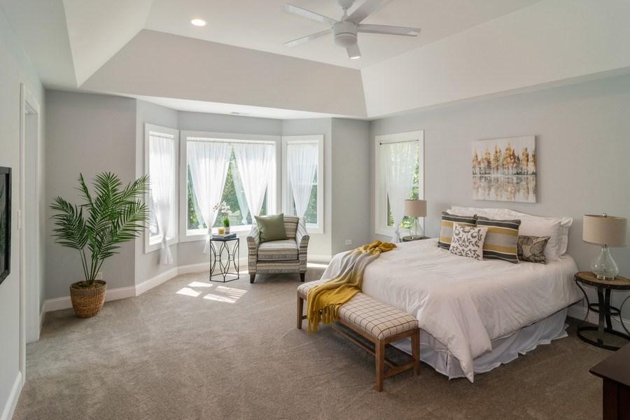 Real Estate Photography - 204 Fairbank, Riverside, IL, 60546 - Master Bedroom