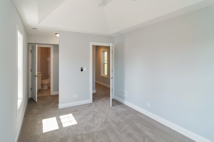 Real Estate Photography - 204 Fairbank, Riverside, IL, 60546 - 3rd Bedroom