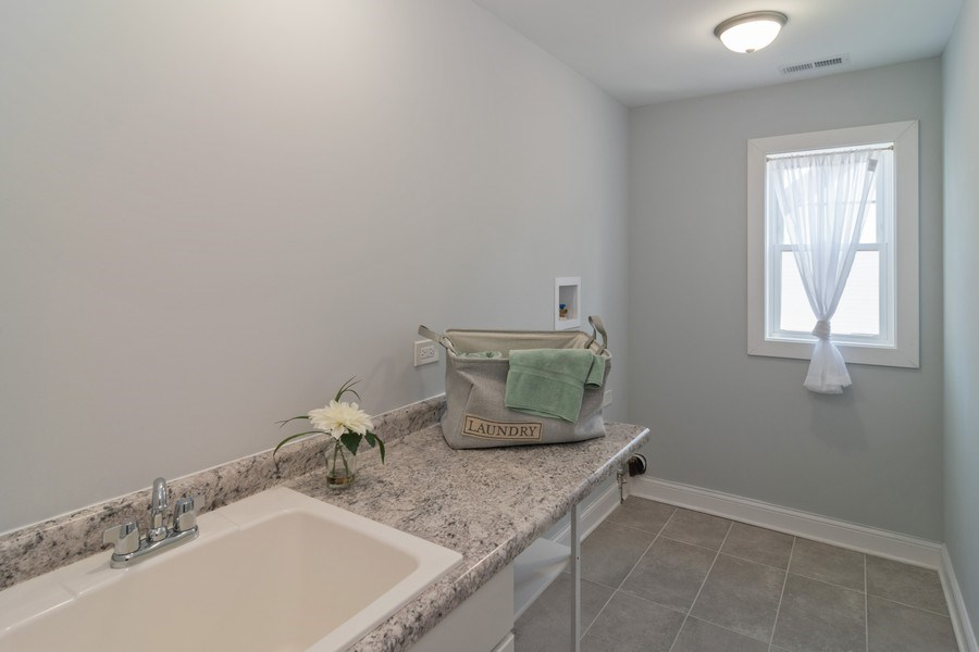 Real Estate Photography - 204 Fairbank, Riverside, IL, 60546 - Laundry Room
