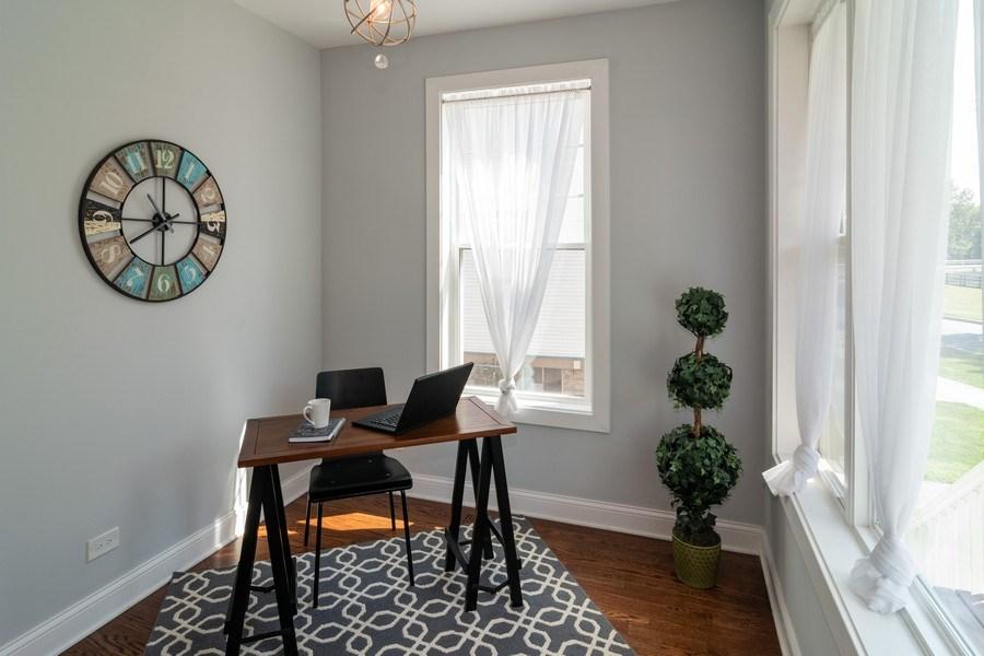 Real Estate Photography - 204 Fairbank, Riverside, IL, 60546 - Breakfast Nook