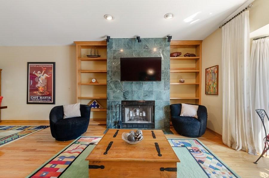 Real Estate Photography - 612 S. Laflin, Unit E, Chicago, IL, 60607 - Living Room