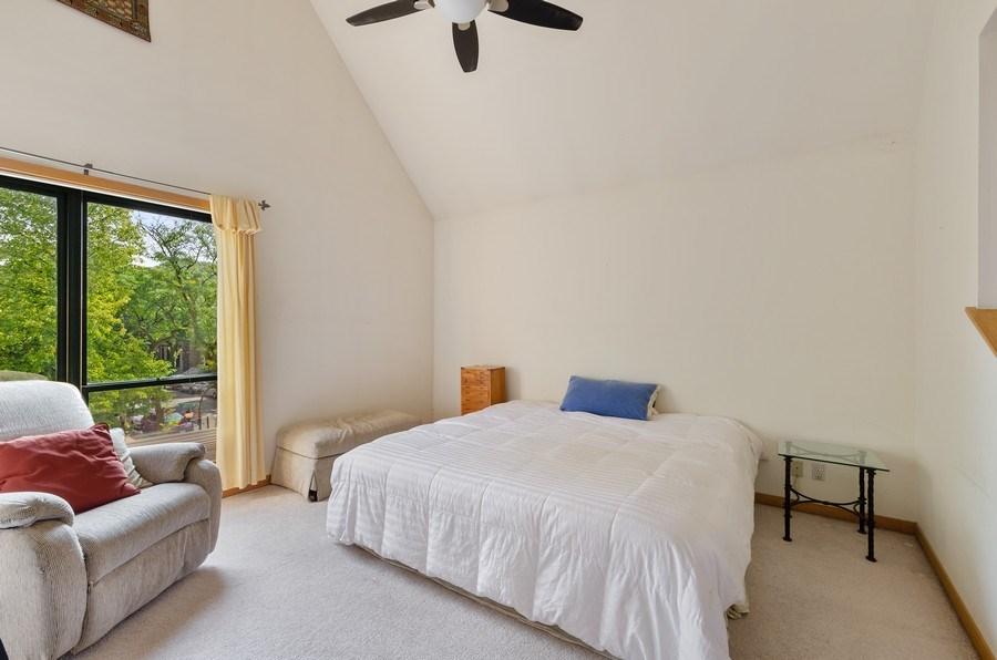 Real Estate Photography - 612 S. Laflin, Unit E, Chicago, IL, 60607 - Master Bedroom