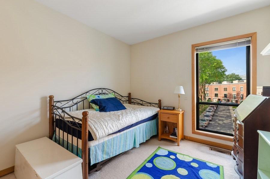 Real Estate Photography - 612 S. Laflin, Unit E, Chicago, IL, 60607 - Bedroom