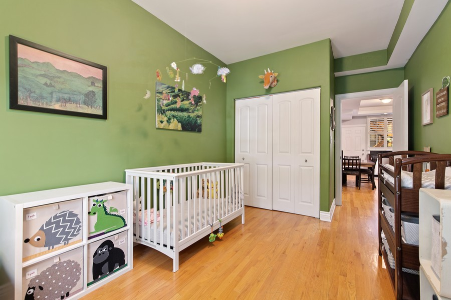 Real Estate Photography - 7035 N Greenview Ave, Unit 1S, Chicago, IL, 60626 - 2nd Bedroom