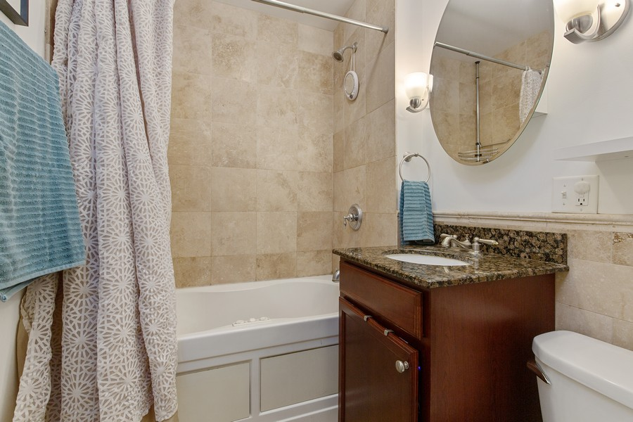 Real Estate Photography - 7035 N Greenview Ave, Unit 1S, Chicago, IL, 60626 - Bathroom