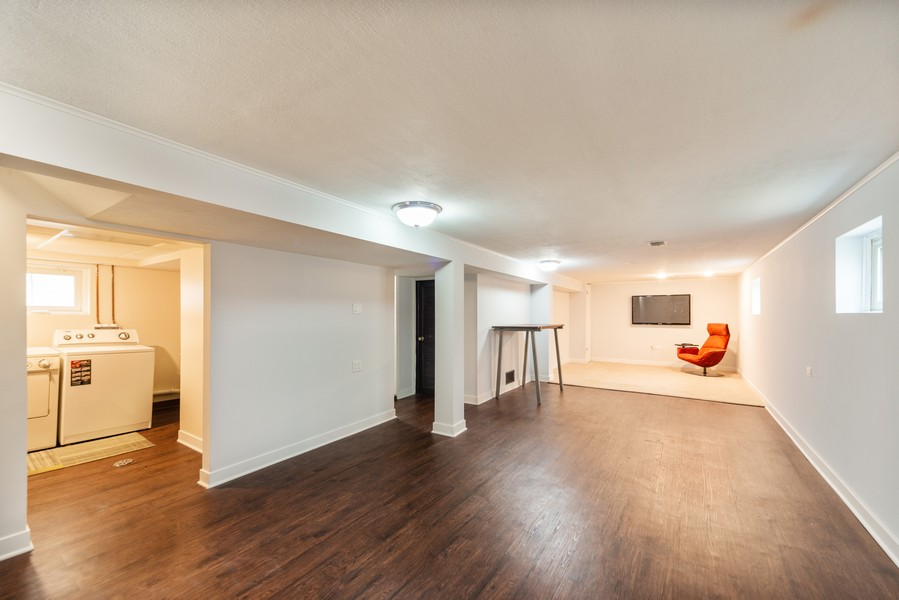 Real Estate Photography - 5367 N. Lynch Ave., Chicago, IL, 60634 - Lower Level