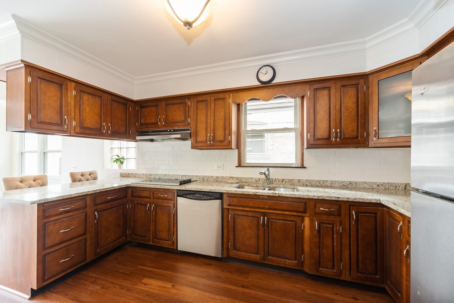 Real Estate Photography - 5367 N. Lynch Ave., Chicago, IL, 60634 - Kitchen