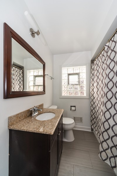 Real Estate Photography - 5367 N. Lynch Ave., Chicago, IL, 60634 - Bathroom